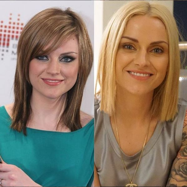 Amy Macdonald takes part in the 10 year challenge