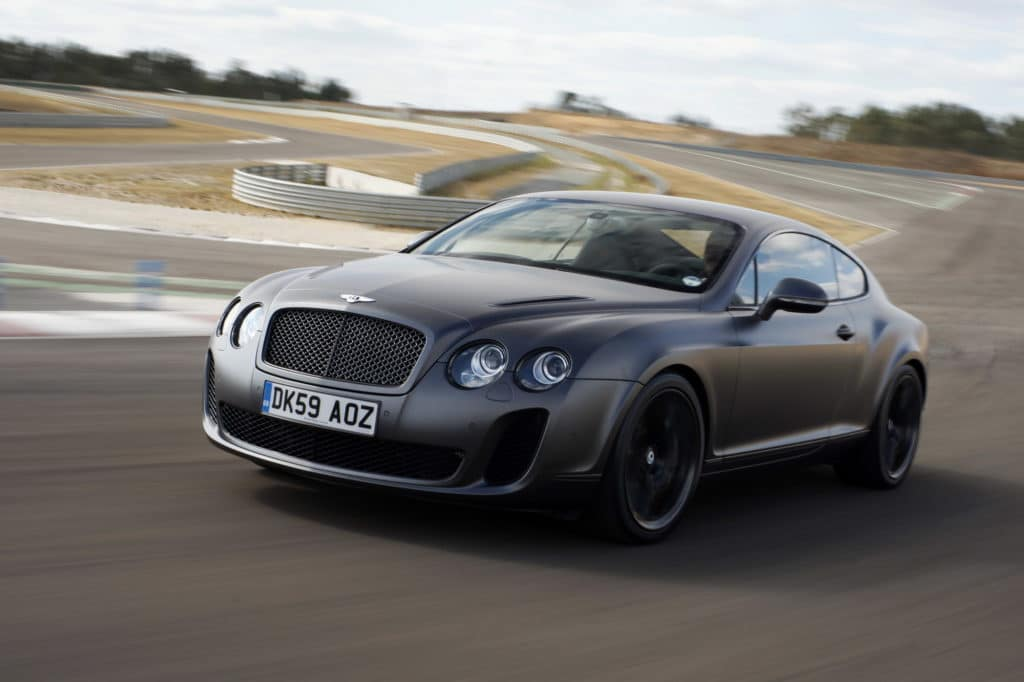Bentley Continental Supersports car