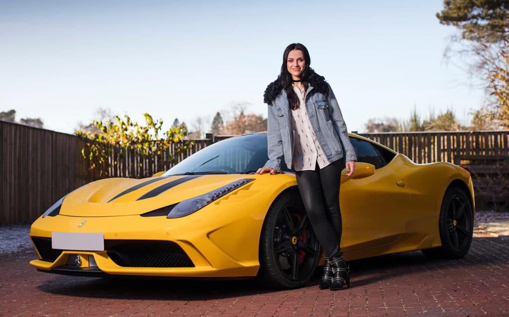 Ferrari 458 Special car
