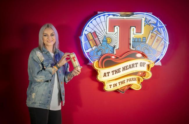 Amy Macdonald Tennent's Golden Can
