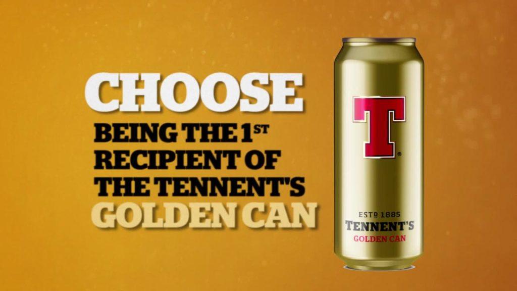 tennent's golden can