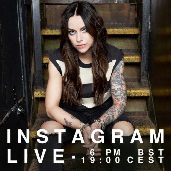 Amy Macdonald live on instagram at 7 p.m.