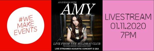 Amy Macdonald calls for government support for the live music industry before the benefit concert