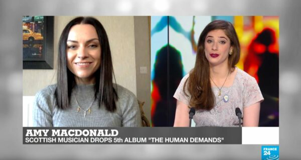 "Video interview with Amy Macdonald talking about her new album ""The Human Demands"""